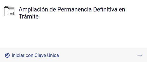 Ampliación de Permanencia Definitiva en tramite extranjeria chile immichile