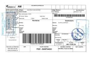 comprobante de envio solicitud por correo extranjeria chile immichile migraciones