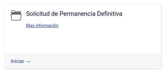 solicitud de permanencia definitiva en línea departamento de extranjería y migración chile trámites en línea