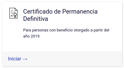 Certificado de Permanencia Definitiva extranjeria chile immichile