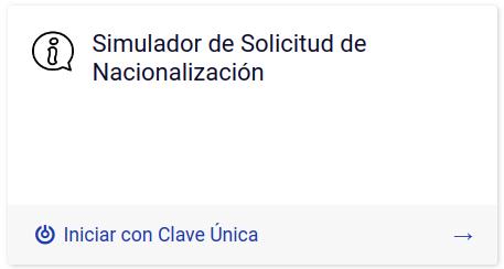 simulador de solicitud de nacionalización en chile immichile extranjeria migraciones