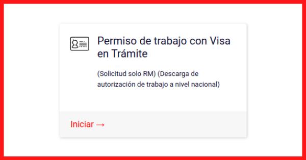 permiso de trabajo con visa en tramite extranjeria gobernaciones provinciales tramites en linea de extranjeria migraciones immichile