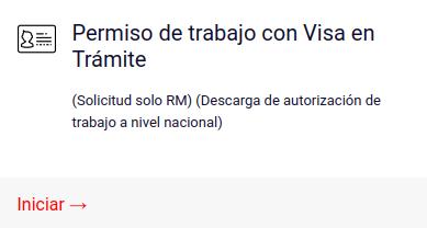 permiso de trabajo con visa en tramite solicitud chile immichile