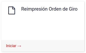 reimpresión orden de giro departamento de extranjeria y migracion chile