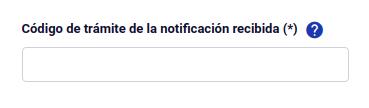 Código de trámite de la notificación recibida subsanar solicitud de permanencia definitiva chile extranjeria immichile