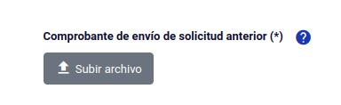 Comprobante de envío de solicitud anterior subsanar solicitud permanencia definitiva chile extranjeria immichile