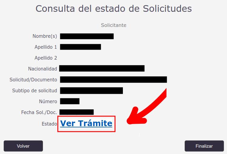 consulta de estado de solicitudes departamento de extranjeria y migración chile immichile