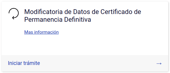 Modificatoria de Datos de Certificado de Permanencia Definitiva tramites extranjeria gob departamento extranjeria y migracion chile immichile
