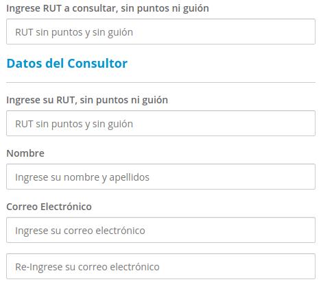 Certificado de afiliación AFP chile datos personales immichile