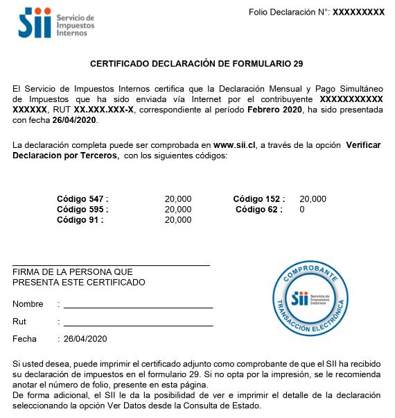 Últimos 8 pagos de IVA permanencia definitiva chile extranjeria immichile