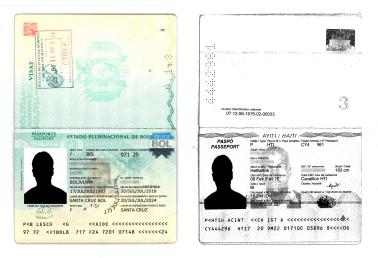 hoja de identificación del pasaporte escaneada solicitud de permanencia definitiva chile extranjeria immichile