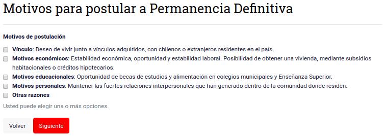 solicitud de permanencia definitiva Motivos para postular a Permanencia Definitiva extranjeria migraciones chile immichile 9