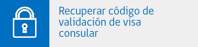 recuperar codigo de validacion visa consular chilena chile immichile