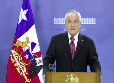 El Presidente de la República de Chile decreta estado de catástrofe en el país