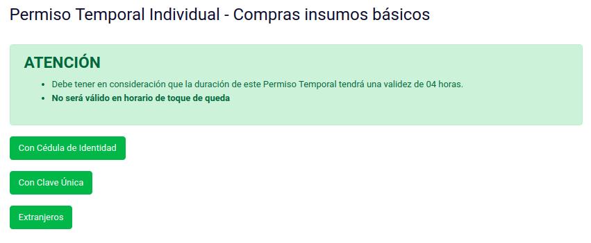 permiso temporal cedula de identidad clave unica extranjeros pasaporte chile catastrofe immichile