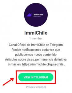 canal oficial de immichile en telegram
