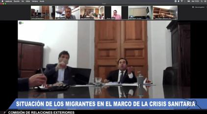 comision relaciones exteriores senado situacion migrantes durante crisis sanitaria chile