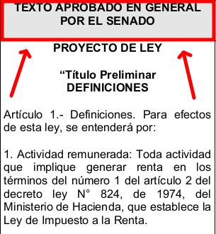 texto aprobado en general por el Senado proyecto de ley de migracion y extranjeria chile immichile