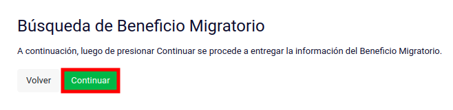 Búsqueda de Beneficio Migratorio extranjeria migracion migraciones chile immichile