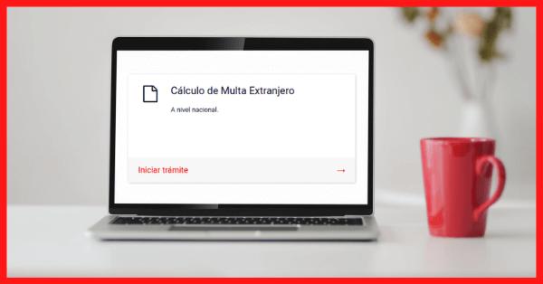 calculo pago multa extranjeria sanciones migratorias migraciones chile immichile