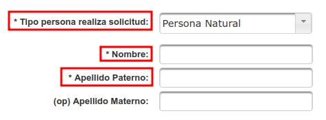 datos del solicitante transparencia extranjeria chile immichile