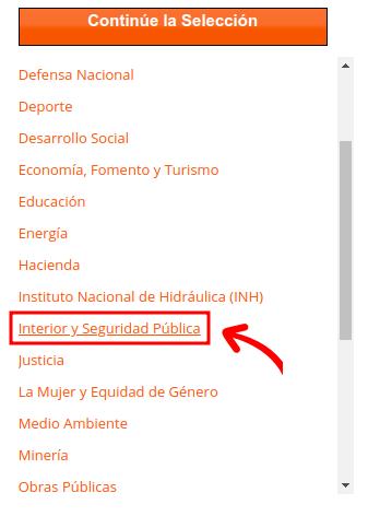 interior y seguridad publica portal de transparencia extranjeria chile immichile
