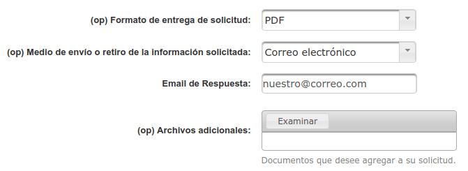 medio de entrega respuesta correo electronico transparencia extranjeria chile immichile