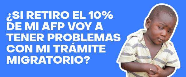 retiro 10 afp afecta tramite migratorio en chile extranjeria immichile