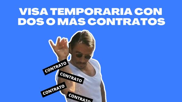 visa temporaria con dos o mas contratos chile immichile extranjeria