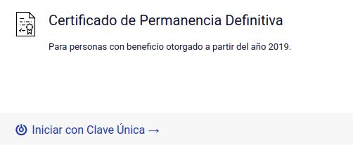 Certificado de Permanencia Definitiva (CePeDe) extranjeria chile immichile
