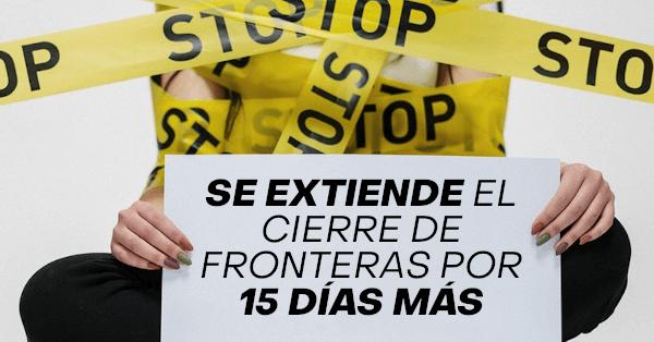 se extiende el cierre de fronteras en chile por 15 días más chilenos extranjeros residentes immichile extranjeria pdi
