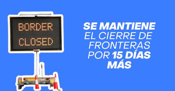 se mantiene el cierre de fronteras por 15 dias mas chile immichile pdi extranjeria