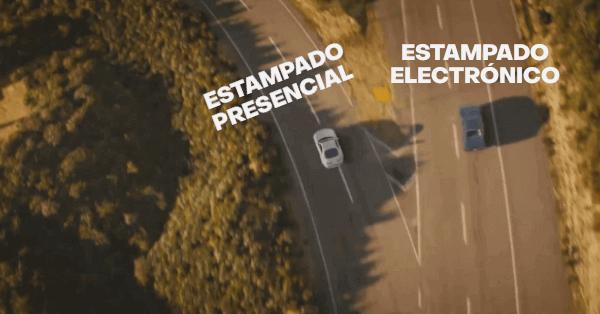 estampado electronico reemplaza a estampado presencial chile extranjeria 23 de septiembre immichile