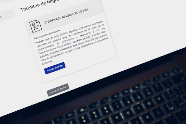 registro de visa por primera vez pdi virtual certificado de registro de visa chile immichile
