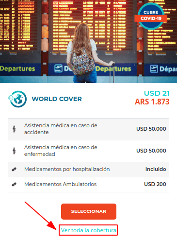 seguro assist 365 coronavirus covid 19 chile immichile world cover economico