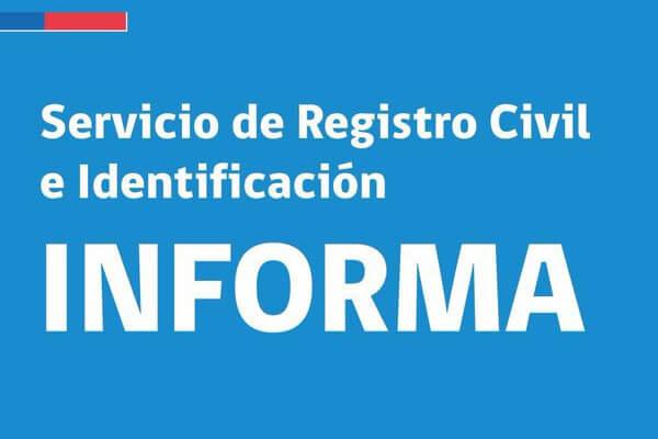 Registro Civil realizará jornada especial de entrega de cédulas de identidad este sábado 26 de diciembre immichile