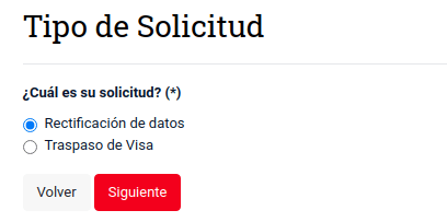 rectificacion de datos estampado electronico visa chile extranjeria immichile