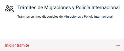 Trámites de Migraciones y Policía Internacional pdi virtual chile immichile