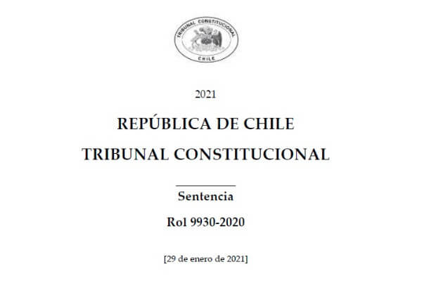 Tribunal Constitucional dicta sentencia en requerimiento de inconstitucionalidad respecto de ciertas disposiciones del Proyecto de Ley de Migración y Extranjería immichile