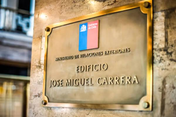 Ministerio de Relaciones exteriores estampado electronico visas consulares chile immichile