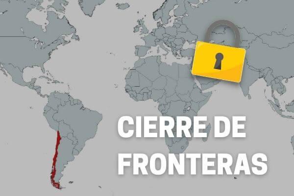 Se publica Decreto que extiende el cierre de fronteras en Chile a lo menos hasta el próximo 15 de junio immichile
