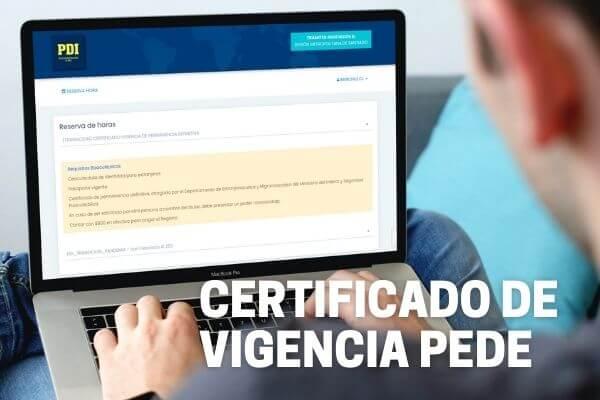 certificado de vigencia de permanencia definitiva pdi region metropolitana cedula de identidad extranjeros immichile