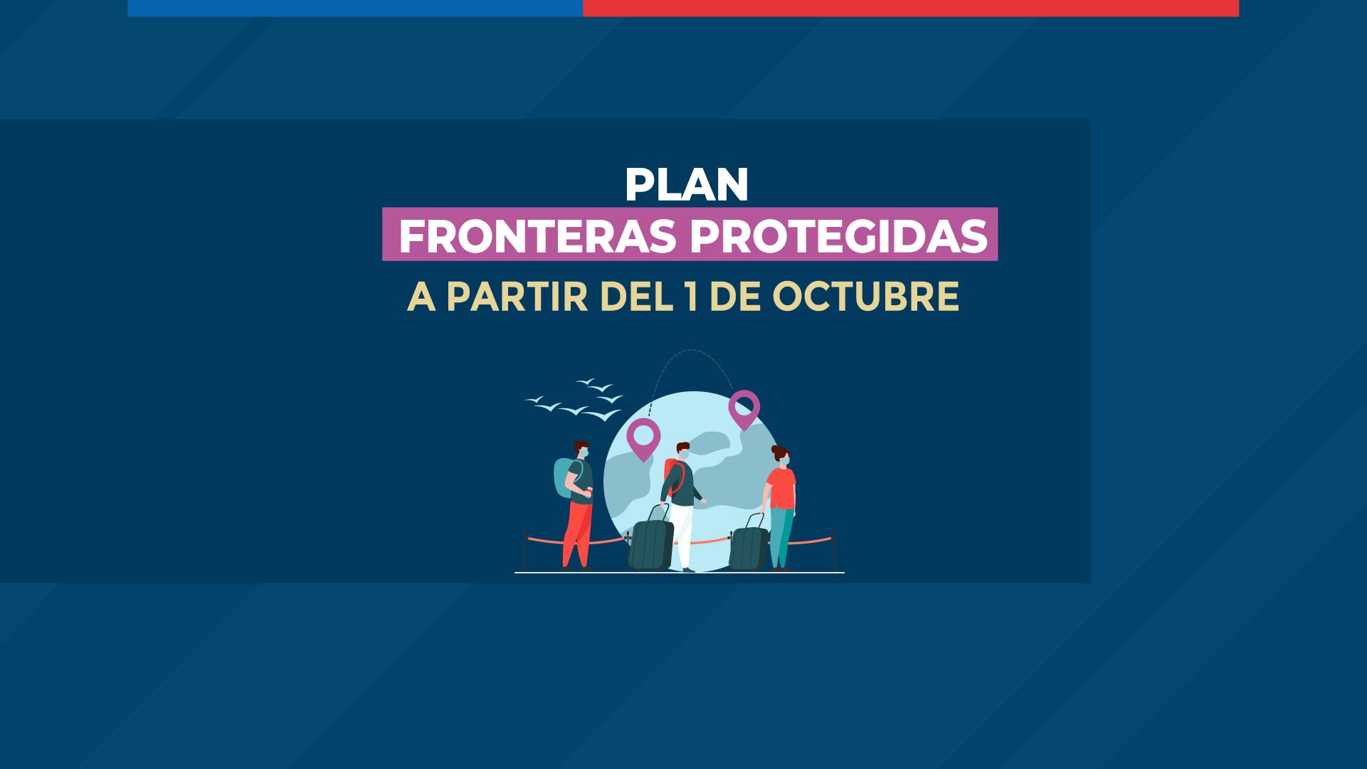 Se anuncian cambios al plan fronteras protegidas 1 de octubre 2021 immichile chile